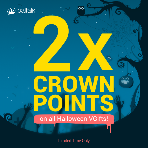 2x Crown Points on Halloween VGifts